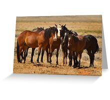 Group Portrait-Signed-#9029 Greeting Card