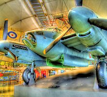 De Havilland Mosquito B35 - Hendon - HDR by Colin J Williams Photography