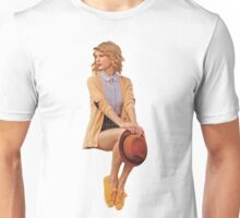 Taylor Swift in beige for Keds Unisex T-Shirt