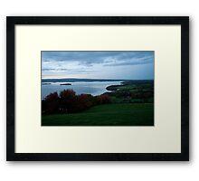 Dusk On Lough Derg Framed Print