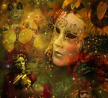 Carnival - New Orleans Mardi Gras Splendor by Barbara Landrith