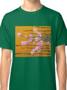 October Cherry Blossoms Classic T-Shirt