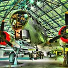 Boeing B17G - Hendon - HDR by Colin J Williams Photography
