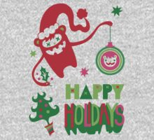 Monster Holidays One Piece - Short Sleeve