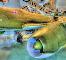 Messerschmitt Me 262A-2a Schwalbe (Swallow) - Hendon - HDR by Colin J Williams Photography