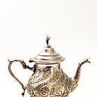 Moroccan Silver Teapot by Skye Hohmann