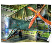 "Vickers Vimy ""Triple First"" - Hendon - HDR Poster"