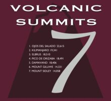7 Volcanic Summits by Fran Riley