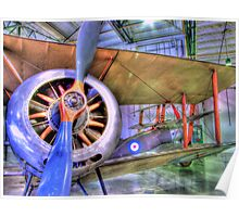 Sopwith Pup and Sopwith Triplane - Hendon - HDR Poster