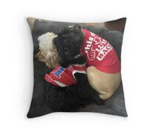 Cute Dogs Throw Pillow