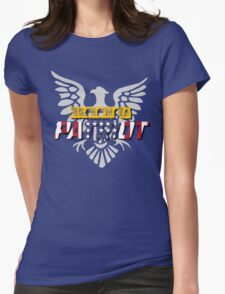 King Patriot Womens Fitted T-Shirt