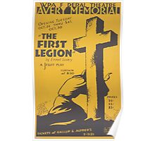 WPA United States Government Work Project Administration Poster 0467 Avery Memorial The First Legion Emery Lovery Poster