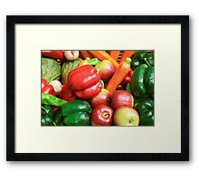 Colours of the kitchen Framed Print