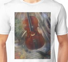 Strike a Chord with this Beautiful Musical Design Unisex T-Shirt