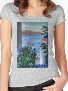 Blue Lagoon Women's Fitted Scoop T-Shirt