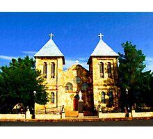 San Albino Church, Mesilla, New Mexico Photographic Print