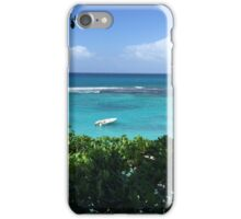 Ocean view from the trees iPhone Case/Skin