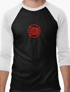 Epcot Spaceship Earth Dark Men's Baseball ¾ T-Shirt