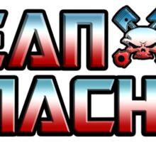 EBW Mean Machine Mark Sanders T-Shirt Sticker