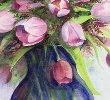 Tulip bouquet Sticker