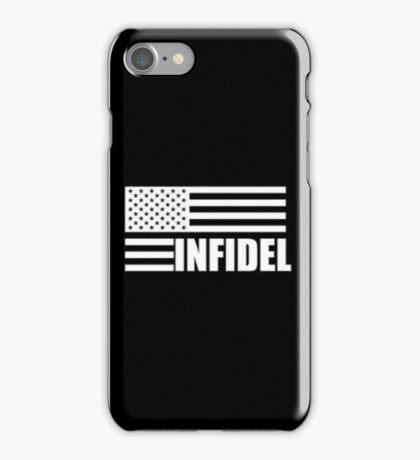 American Infidel (Black) iPhone Case/Skin