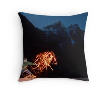 Playing with Light Throw Pillow