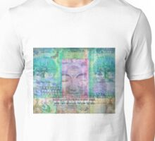 Inspiration Buddha quote about letting go of the past Unisex T-Shirt