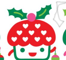 Cupcake Holidays Sticker