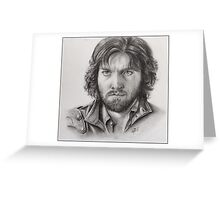 Athos from The Musketeers! Greeting Card