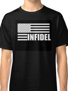 American Infidel (Black) Classic T-Shirt