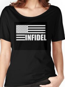 American Infidel (Black) Women's Relaxed Fit T-Shirt