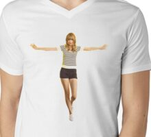 The Taylor Swift happiness Mens V-Neck T-Shirt