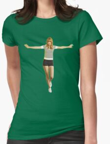 The Taylor Swift happiness Womens Fitted T-Shirt