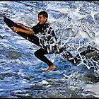 Angry Ocean by John Van-Den-Broeke