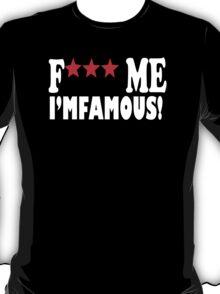 New David Guetta F Me I'm Famous T-Shirt