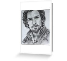 Aramis from The Musketeers! Greeting Card