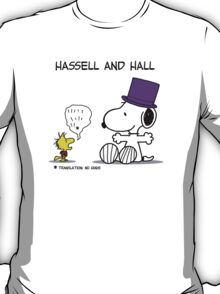 Hassell & Hall: Snoopy & Woodstock T-Shirt