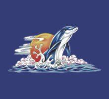 Happy Dolphin by Walter Colvin
