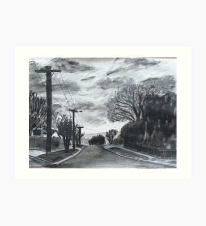 Dannock Street Art Print