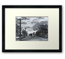 Dannock Street Framed Print