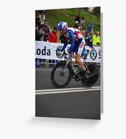 David Zabriskie Greeting Card