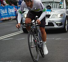 Richie Porte by Steven Weeks