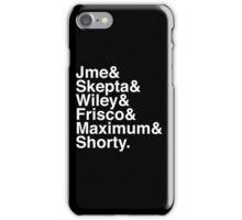 bbk Members list iPhone Case/Skin