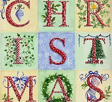 Decorative Christmas Letters by lizblackdowding
