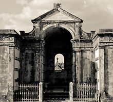 Mausoleum in New Orleans by Susan Grissom