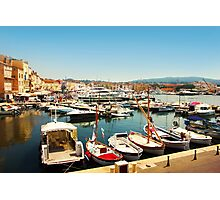 Saint Tropez Old Harbour, French Riviera Photographic Print