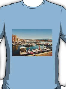 Saint Tropez Old Harbour, French Riviera T-Shirt
