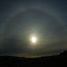 22 degree halo around the sun by Rachel81
