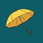 Yellow Umbrella  by benwllace159
