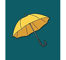 Yellow Umbrella  Photographic Print